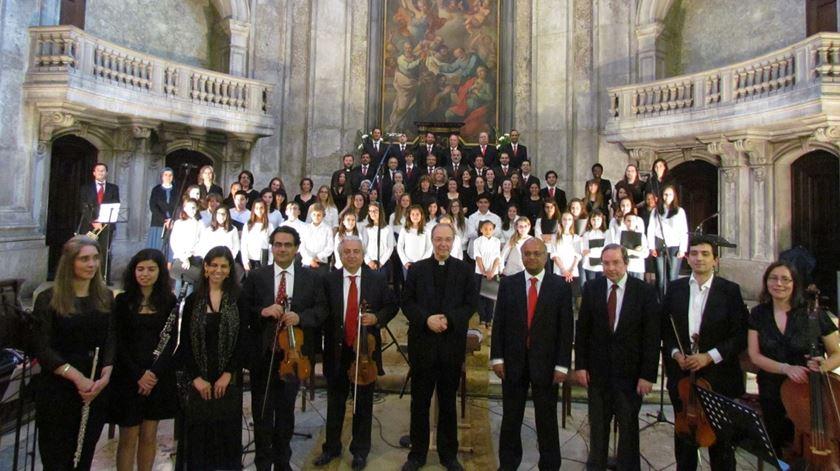 Coro da Catedral de Lisboa. Foto: Facebook CCL