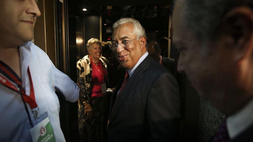 """António Costa. """"PS está preparado para assumir as suas responsabilidades"""""""