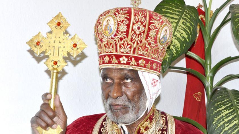Dioskoros, Patriarca da Igreja Ortodoxa da Eritreia, que morreu em Dezembro de 2015. Foto: DR