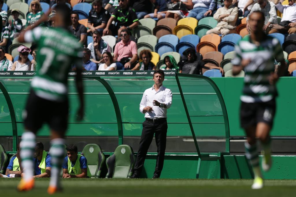Como treinador, Domingos já passou, entre outros, por Braga e Sporting Foto: Mário Cruz/EPA