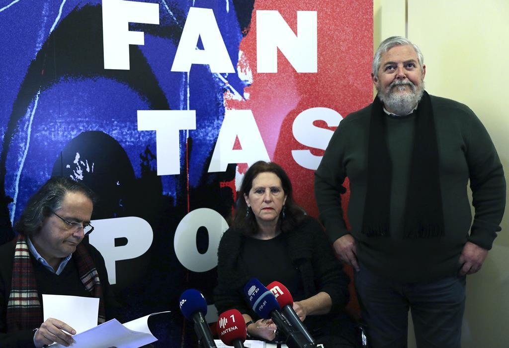 Mário Dorminsky e Beatriz Pacheco Pereira, da organização do Fantasporto. Foto: Estela Silva/Lusa