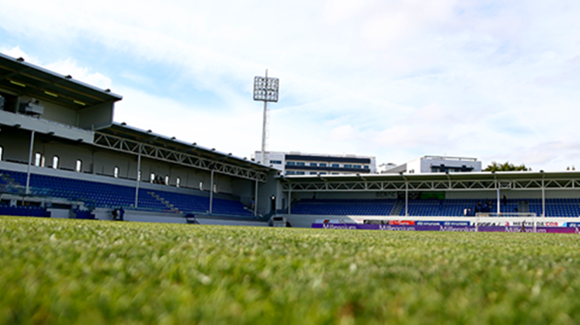 Chaves goleia Feirense no último teste ao público nos estádios
