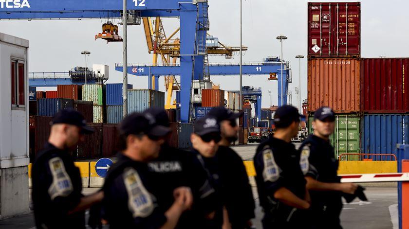 Coronavírus. Governo avança com requisição civil no porto de Lisboa