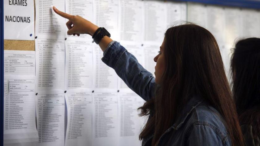Confap teme prejuízo para os alunos por causa de exames nacionais. Foto: Lusa