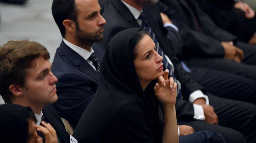 Papa pede a familiares de vítimas de Nice que respondam ao ódio com perdão e amor