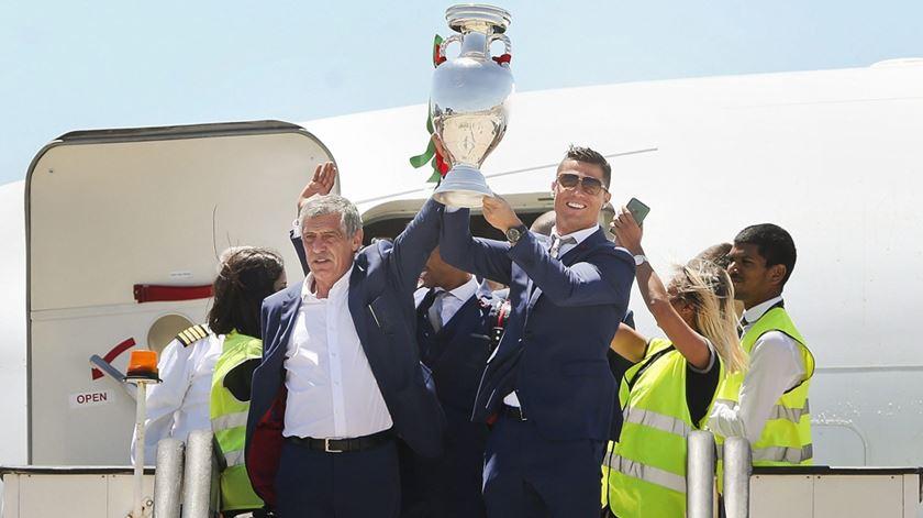 """Fernando Santos: """"Quero ser campeão do mundo"""""""