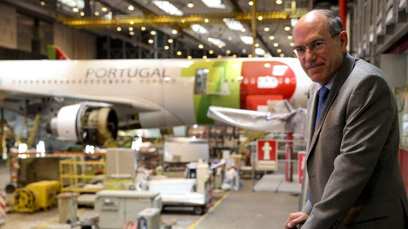 Fernando Pinto expande destinos da TAP. Foto: Lusa