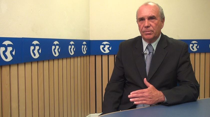 José Pereira é o presidente da Associação Nacional de Treinadores de Futebol. Foto: RR