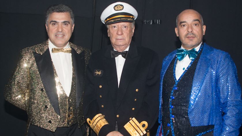 Carlos Costa, Aurélio Moreira e Carlos Coutinho