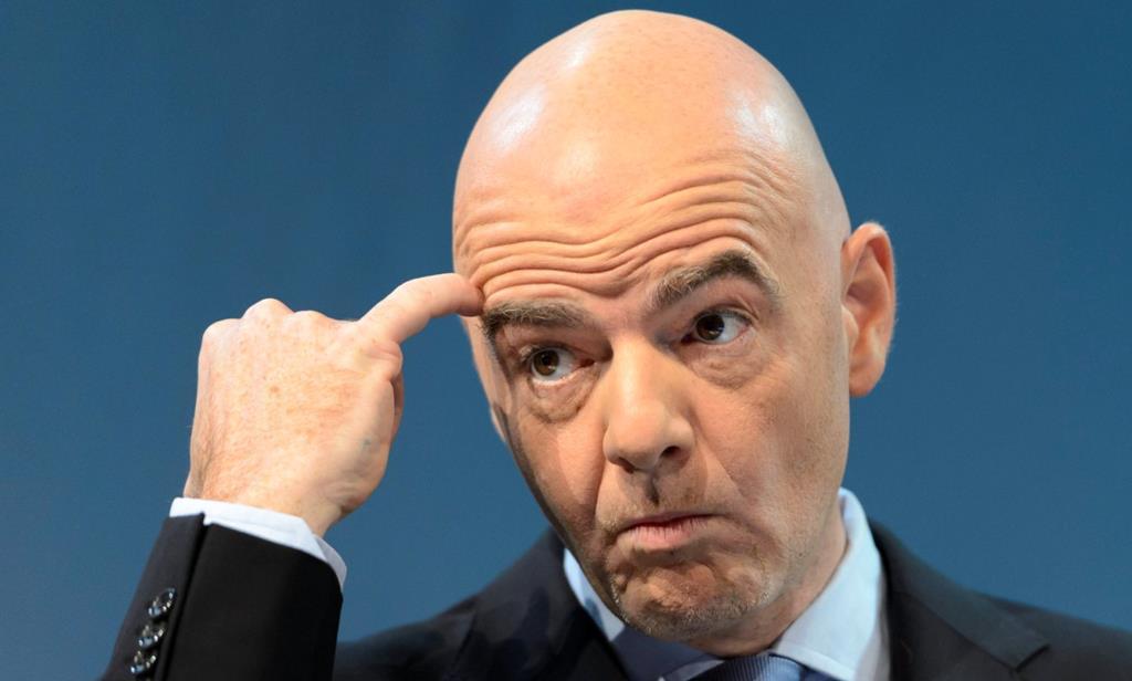 Presidente da FIFA ameaça ação implacável. Foto: Laurent Gillieron/EPA