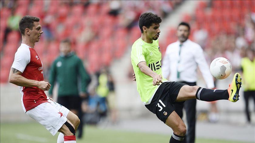 Gil Dias foi o homem do jogo diante do Sporting. Foto: EPA (Arquivo)