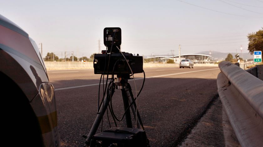 A PSP anunciou os locais em que vai fazer operações com a utilização de radares de velocidade.