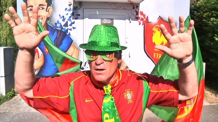 Euro 2016. O Haka português envolve chouriço e presunto