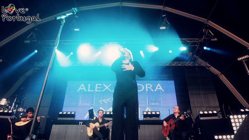 O espetáculo Alexandra recorda Amália
