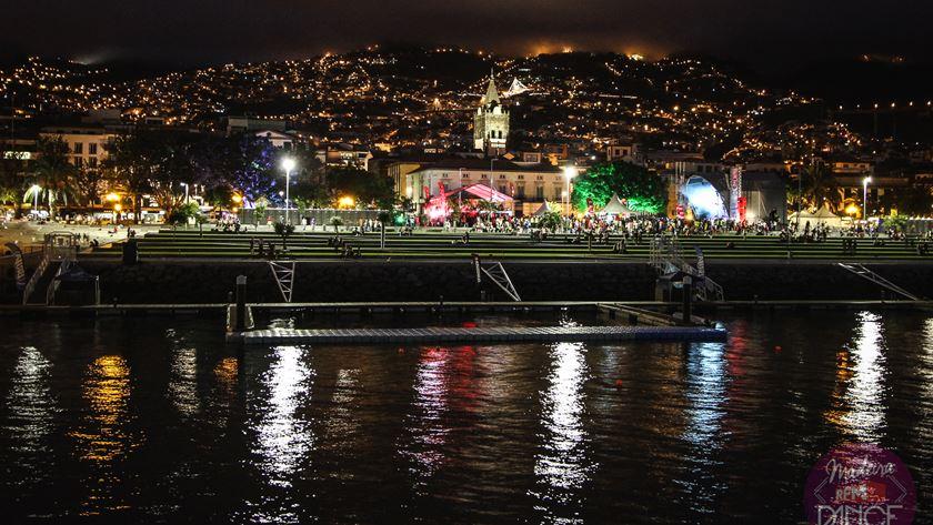 O cenário fabuloso do Funchal