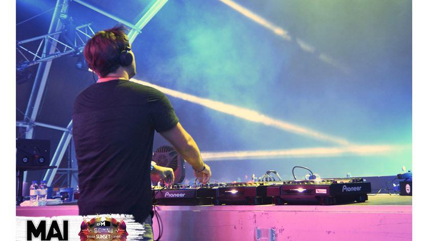 Sebastien Ingrosso on stage