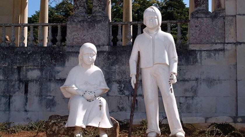 Jacinta e Francisco Marto. Foto: Santuário de Fátima