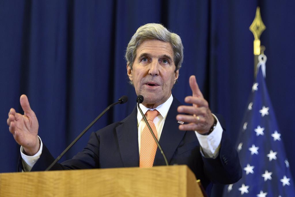 O ex-senador americano deslocou-se a Xangai. Foto: EPA