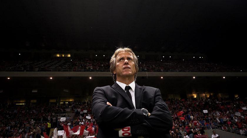Jorge Jesus apresentado esta segunda-feira como treinador do Benfica