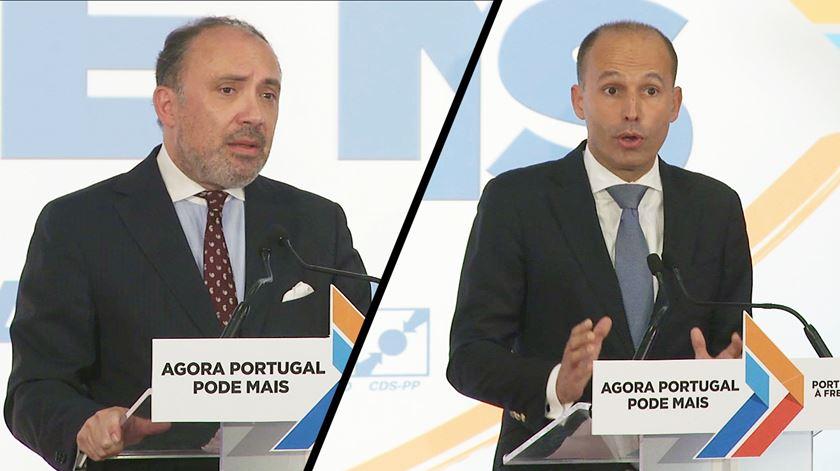 """PSD/CDS """"lamentam"""" apelo directo ao voto de Costa"""