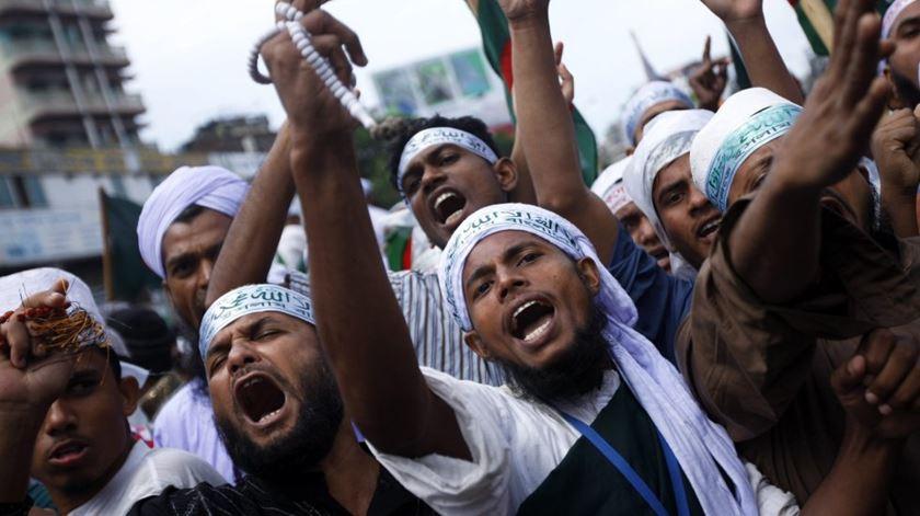 O extremismo islâmico tem aumentado no Bangladesh. Foto: DR