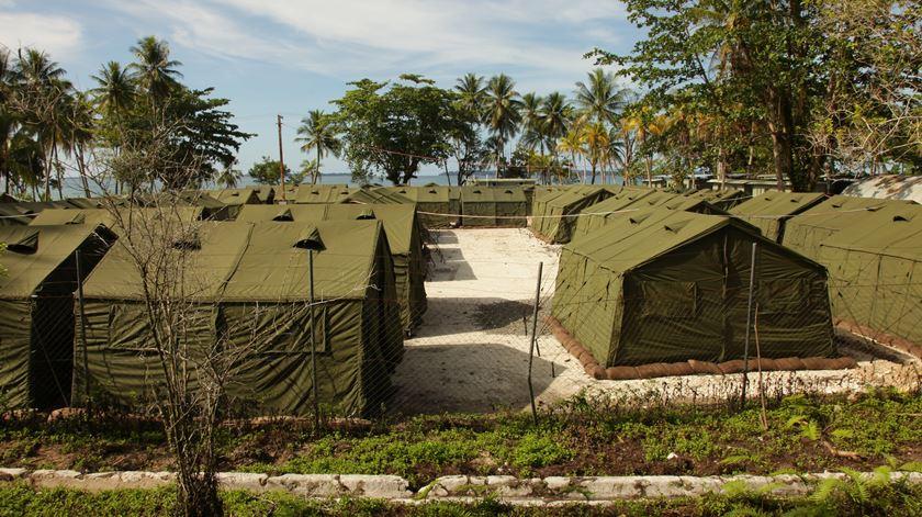Em Nauru estão 500 pessoas. Foto: DR