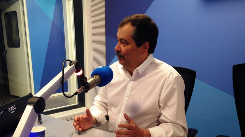 Mário Nogueira em entrevista à Renascença. Foto: Marina Duarte/RR