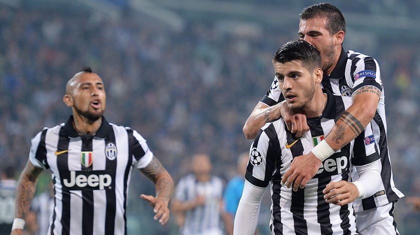 Juventus anuncia contratação de Morata