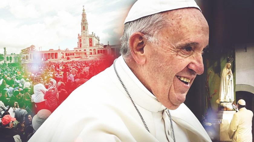 """""""Uma bênção sem conta, de Portugal para o mundo"""". As 24 horas do Papa em Fátima"""