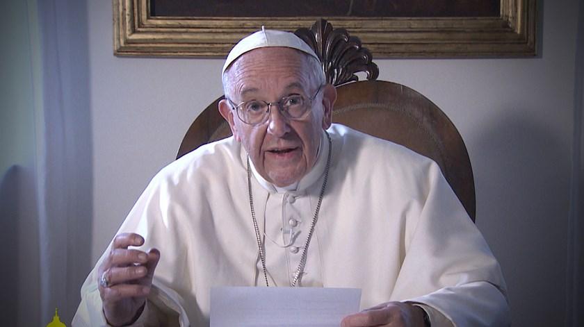 """Papa aos portugueses: """"Preciso de vos ter comigo"""""""