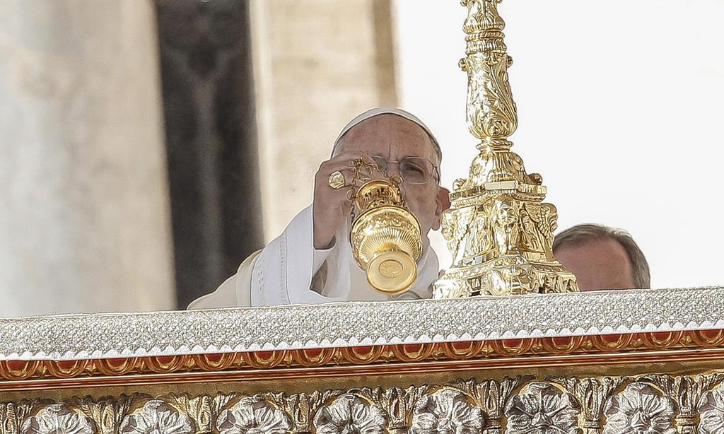 O Papa Francisco vai presidir à missa do Domingo da Divina Misericórdia, em Roma. Foto: Giuseppe Lami/EPA