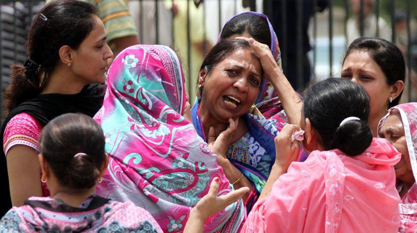 Um atentado no Paquistão fez dezenas de mortos no domingo de Páscoa de 2017. Foto: Shahzaib Akber/EPA