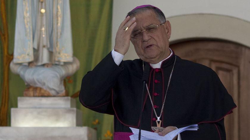 O Patriarca latino de Jerusalém, Fouad Twal. Foto: Paulo Cunha/Lusa