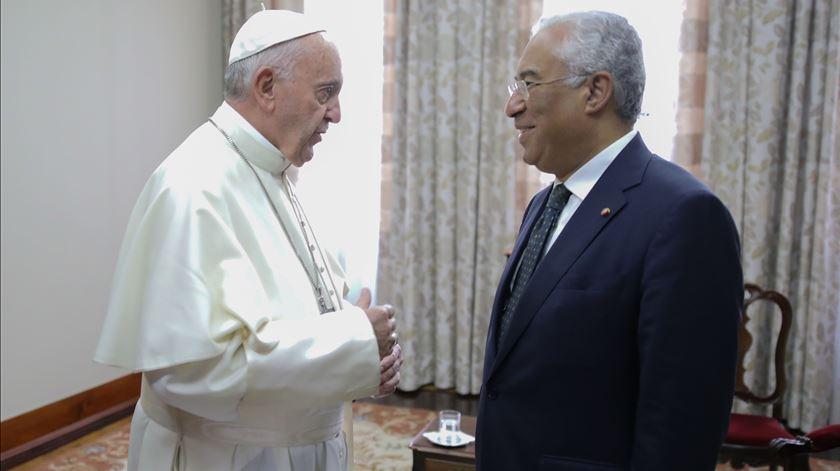 Papa Francisco recebe António Costa