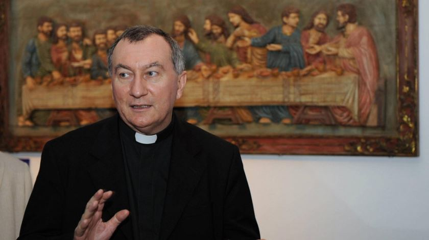 O cardeal Pietro Parolin vai participar na cimeira de Istambul. Foto: DR