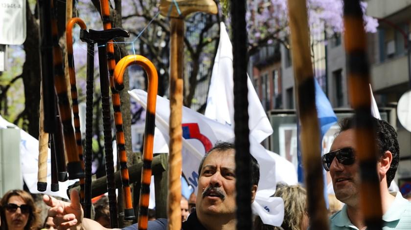 O dirigente da FENPROF, Mário Nogueira. Foto: João Relvas/Lusa