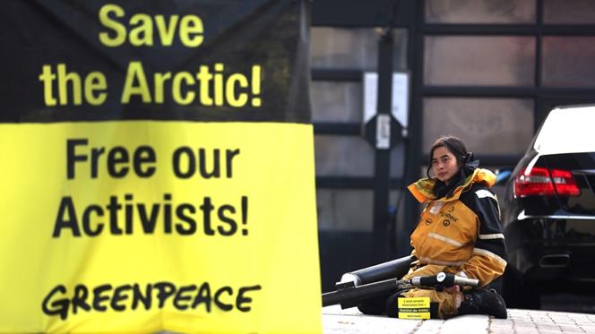 Rússia acusa ambientalistas de pirataria