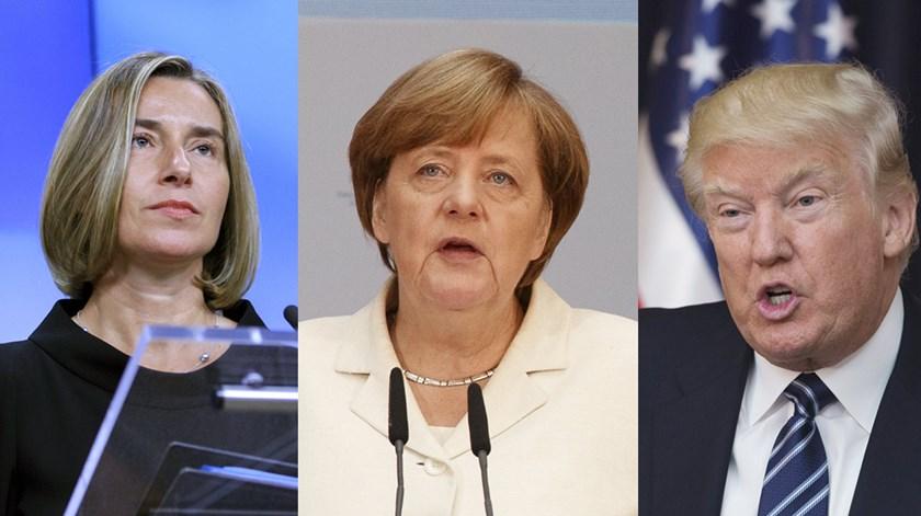 """Manchester. Trump diz que terroristas são """"falhados maléficos"""", Merkel fala em aproveitamento """"inconcebível"""""""