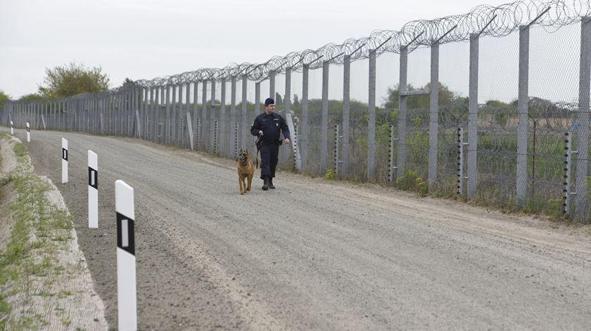 A atitude da Hungria perante os refugiados tem sido criticada por outros países da Europa. Foto: Zoltan Gergely Keleman/EPA
