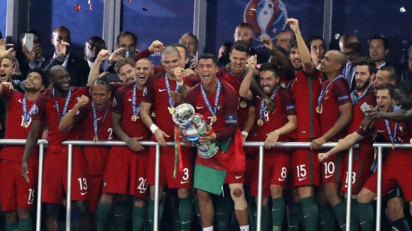 "Euro 2016 continua a ser ""o título mais importante"" da carreira de Cristiano Ronaldo"