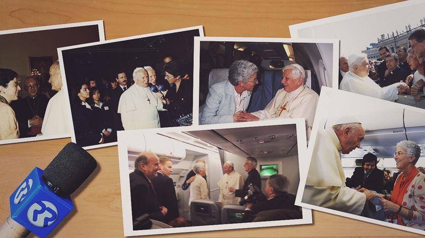 Aura Miguel. Três décadas a seguir o Papa