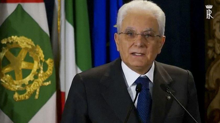 """Tragédia no Mediterrâneo. """"Precisamos mesmo de reflectir"""", diz Presidente italiano"""