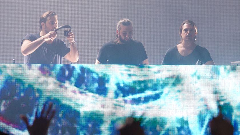 Axwell,Sebastian Ingrosso e Steve Angello