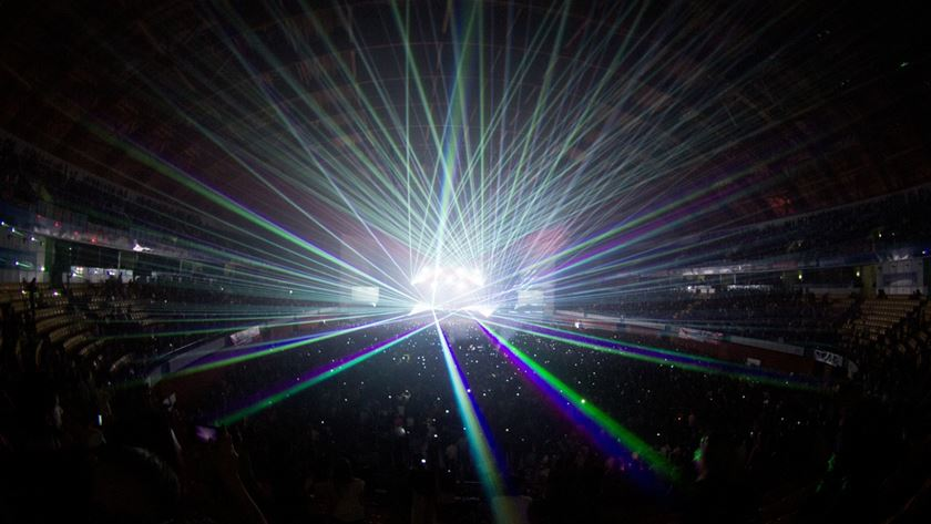 Efeitos de luz espetaculares