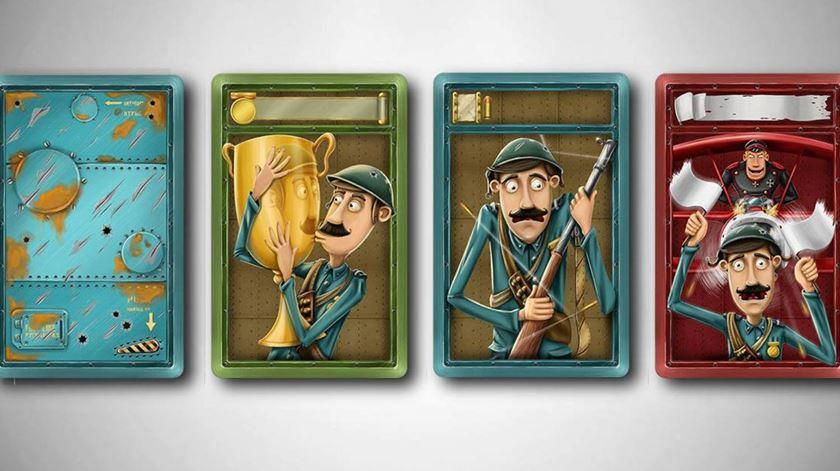 Soldado milhões inspira jogo de cartas. Foto: Pythagoras