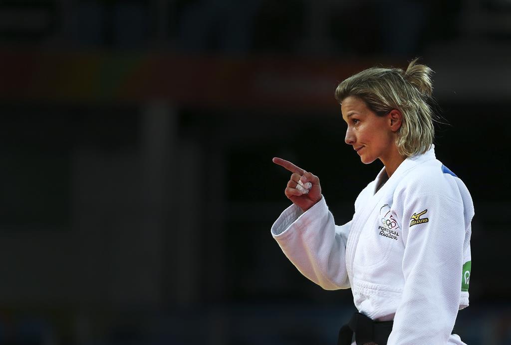 Telma é candidata a vencer nova medalha nos Europeus de Judo Foto: Lusa