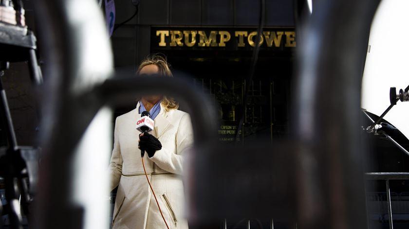 Trump Tower tem sido o cenário de várias notícias. Foto: Justin Lane/EPA
