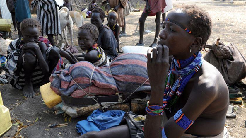 Vítimas da violência no Sudão do Sul. Foto: DR
