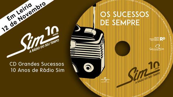 CD Radio Sim - topo Leiria