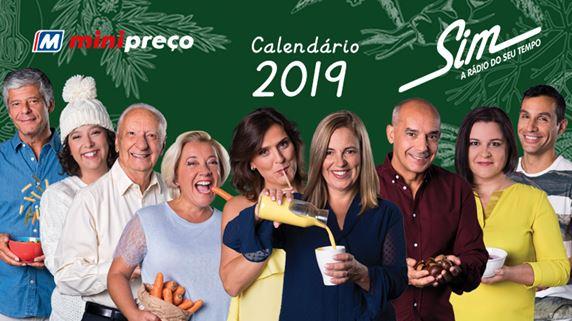 Calendário Rádio Sim 2019_topo